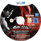 Tekken: Tag Tournament 2 WiiU disc (AKNPAF)