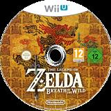 The Legend of Zelda: Breath of the Wild WiiU disc (ALZP01)