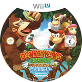 Donkey Kong Country: Tropical Freeze WiiU disc (ARKP01)