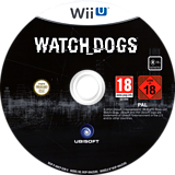 Watch Dogs WiiU disc (AWCP41)