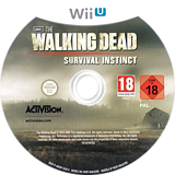 The Walking Dead: Survival Instinct WiiU disc (AWDP52)