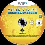 Your Shape: Fitness Evolved 2013 WiiU disc (AYSP41)