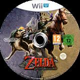 The Legend of Zelda: Twilight Princess HD WiiU disc (AZAP01)