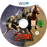 The Legend of Zelda: Twilight Princess HD WiiU disc (AZAP01)