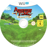 Adventure Time: Finn & Jake Investigations WiiU disc (BFNPVZ)