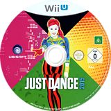 Just Dance 2015 WiiU disc (BJDP41)