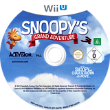 The Peanuts Movie: Snoopy's Grand Adventure WiiU disc (BPEP52)