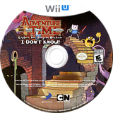 Adventure Time: Explore the Dungeon Because I DON'T KNOW! WiiU disc (ADVEG9)