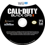 Call of Duty: Black Ops II WiiU disc (AECE52)