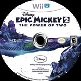 Disney Epic Mickey 2: The Power of Two WiiU disc (AEME4Q)
