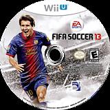 FIFA Soccer 13 WiiU disc (AF3E69)