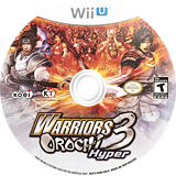 Warriors Orochi 3 Hyper WiiU disc (AHBEC8)