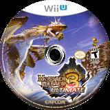 Monster Hunter 3 Ultimate WiiU disc (AHDE08)