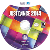 Just Dance 2014 WiiU disc (AJ5E41)