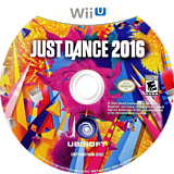 Just Dance 2016 WiiU disc (AJ6E41)