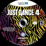 Just Dance 4 WiiU disc (AJDE41)