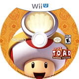 Captain Toad: Treasure Tracker WiiU disc (AKBE01)