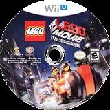 The LEGO Movie Videogame WiiU disc (ALAEWR)