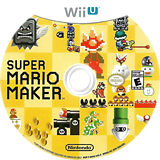 Super Mario Maker WiiU disc (AMAE01)