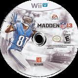 Madden NFL 13 WiiU disc (AMDE69)