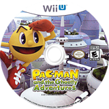 Pac-Man and the Ghostly Adventures WiiU disc (APCEAF)