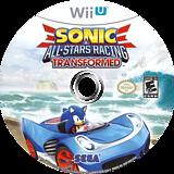 Sonic & All-Stars Racing Transformed WiiU disc (AS2E8P)