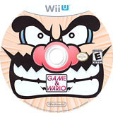 Game & Wario WiiU disc (ASAE01)