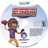 ESPN Sports Connection WiiU disc (ASPE41)