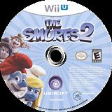 The Smurfs 2 WiiU disc (ASUE41)