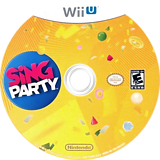 SiNG Party WiiU disc (ASWE01)