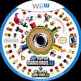 New Super Mario Bros. U + New Super Luigi U WiiU disc (ATWE01)