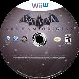 Batman:Arkham Origins WiiU disc (AZEEWR)