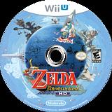 The Legend of Zelda: The Wind Waker HD WiiU disc (BCZE01)