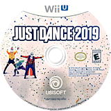 Just Dance 2019 WiiU disc (HJDE41)