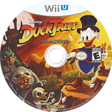 DuckTales: Remastered WiiU disc (WDKE08)