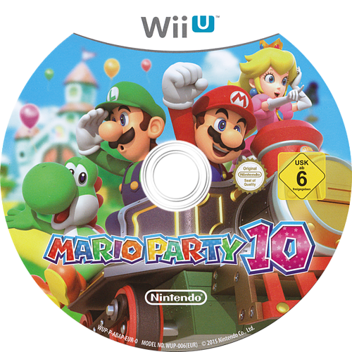 Mario Party 10 WiiU discM (ABAP01)