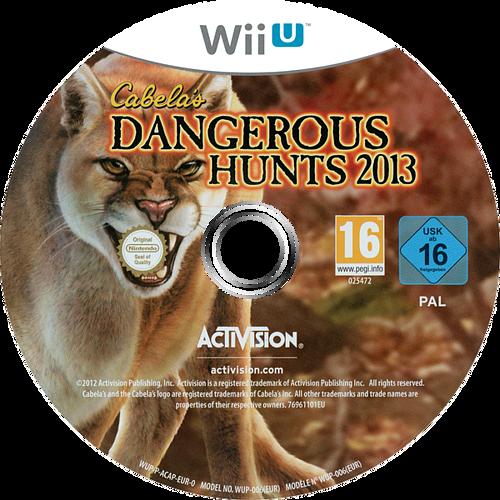 Cabela's Dangerous Hunts 2013 WiiU discM (ACAP52)