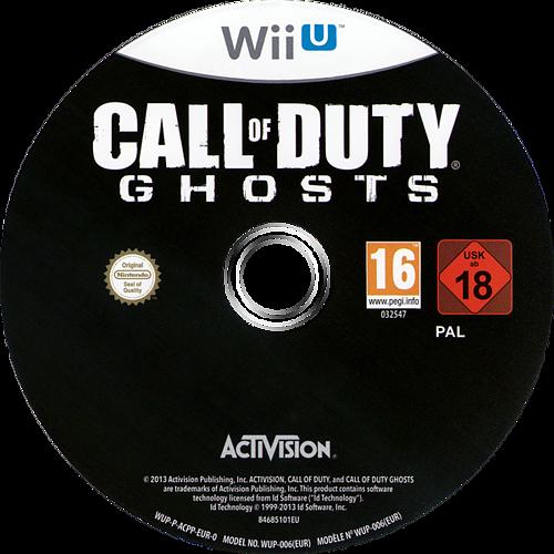 Call of Duty: Ghosts WiiU discM (ACPP52)