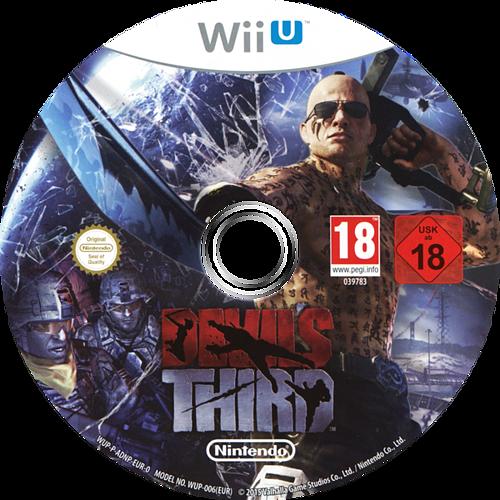 Devil's Third WiiU discM (ADNP01)