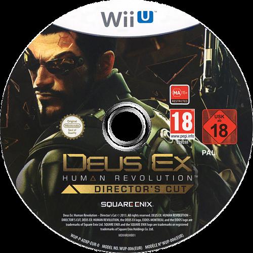 Deus Ex: Human Revolution - Director's Cut WiiU discM (ADXPGD)