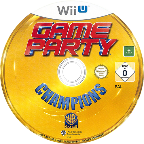 Game Party Champions WiiU discM (AGPPWR)
