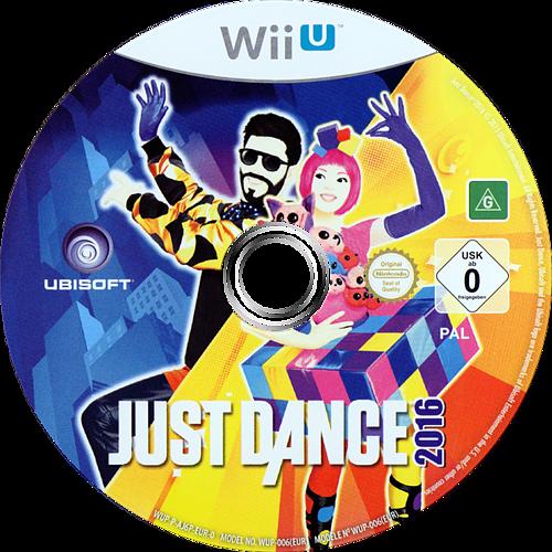 Just Dance 2016 WiiU discM (AJ6P41)