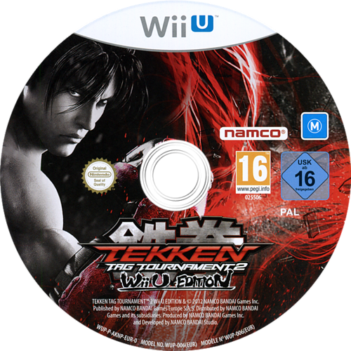 Tekken: Tag Tournament 2 WiiU discM (AKNPAF)