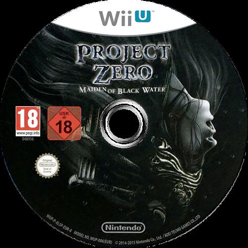 Project Zero: Maiden of Black Water WiiU discM (AL5P01)