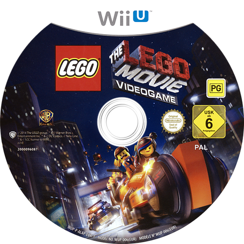 The LEGO Movie Videogame WiiU discM (ALAPWR)