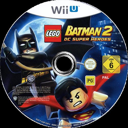 LEGO Batman 2: DC Super Heroes WiiU discM (ALBPWR)