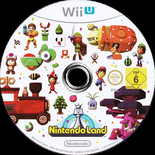 Nintendo Land WiiU discM (ALCP01)