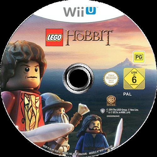 LEGO The Hobbit WiiU discM (ALHPWR)