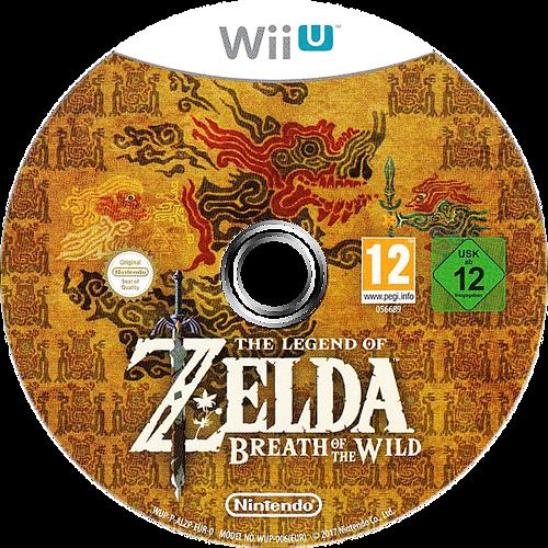The Legend of Zelda: Breath of the Wild WiiU discM (ALZP01)