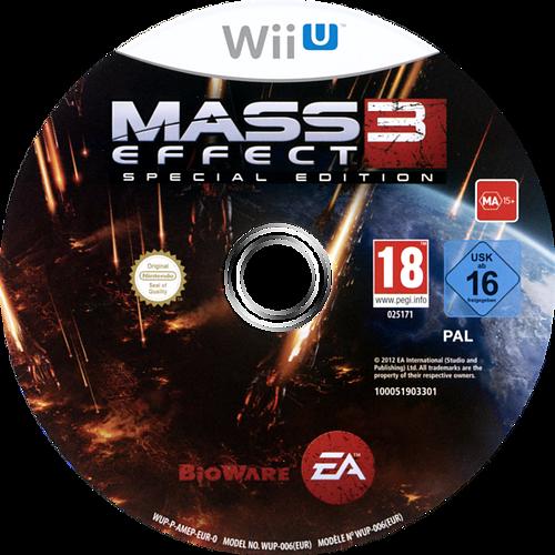 Mass Effect 3 - Special Edition WiiU discM (AMEP69)